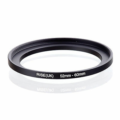 52mm to 60mm 52-60 52-60mm52mm-60mm Stepping Step Up Filter Ring Adapter