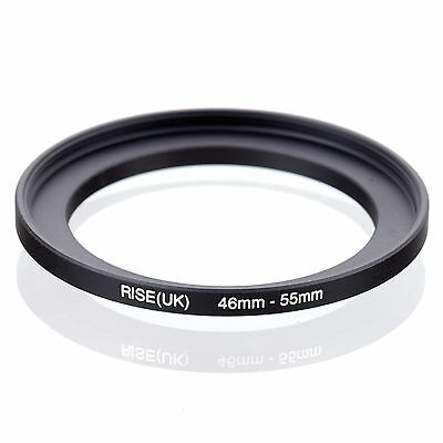 46mm to 55mm 46-55 46-55mm46mm-55mm Stepping Step Up Filter Ring Adapter