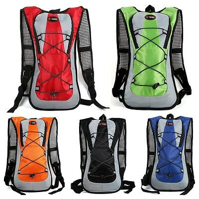 5L Hydration Pack Backpack Outdoor Cycling Camping Hiking Water Bladder Rucksack