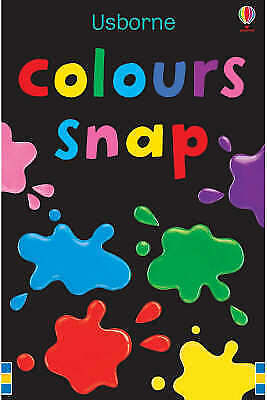Colours Snap Cards Usborne 9780746093511