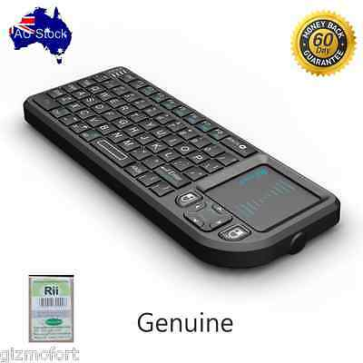 AU Genuine Rii mini x1 Keyboard with touchpad for smart TV PC Android box