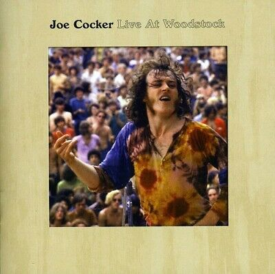 Live At Woodstock - Joe Cocker (2009, CD NUEVO)