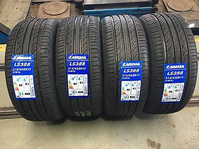 X4 215 45 17 215/45R17 91W Landsail Tyres, Amazing C,b Ratings **top Quality**