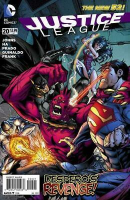 Justice League #20 (Vol 2) New 52 Variant Cover by Tyler Kirkham and Sandra Hope