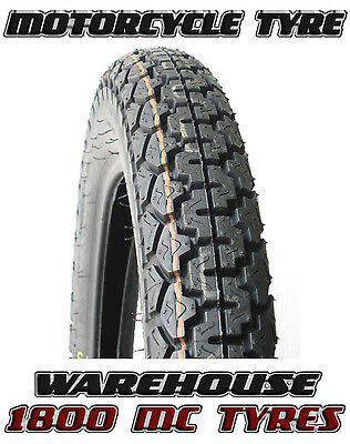 Dunlop K70 3.50-19 (57P) Classic Vintage Sports Motorcycle Tyre 350-19