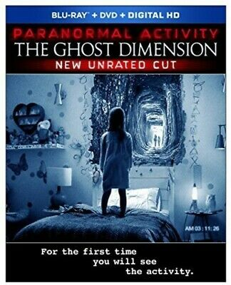 Paranormal Activity: The Ghost Dimension (2016, Blu-ray NUEVO)2 DISC  (REGION A)