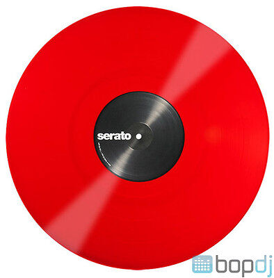 2x Serato Performance Series Timecode Vinyl Record for DVS DJ (PAIR) - RED 12""