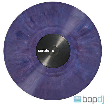 2x Serato Performance Series Timecode Vinyl Record for DVS DJ (PAIR)- PURPLE 12""