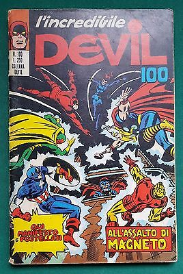 L'Incredibile Devil n.100 * ed. Corno