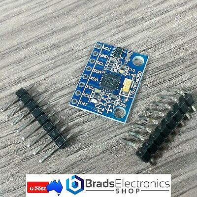 MPU-6050 Accelerometer and Gyro Module - Great for Arduino Projects
