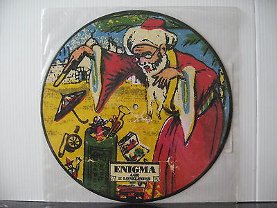 """ENIGMA Age of Loneliness 12"""" VINYL PICTURE DISC Free UK Post"""