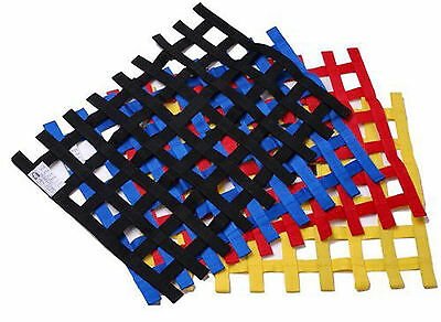 Window Net Car Racing Safety Equipment Nylon Webbing VARIOUS SIZE COLOR MESH