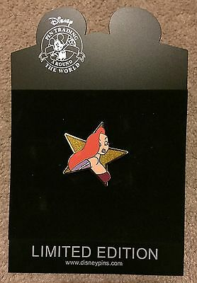 Disney Shopping Hollywood Gold Star Series Jessica Rabbit LE Pin NEW
