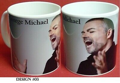 GEORGE MICHAEL  Coffee Mug  3 Designs to pick from