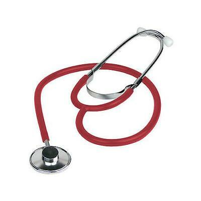 New High Quality Nurses Single Head Stethoscope First Aid Training- Red