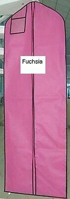 5 Fuchsia Breathable Cloth Wedding Gown Dress Garment Bag