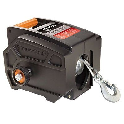 Portable Winch Car Pulling Electric Towing Hitch Mount Truck Trailer Boat Wench