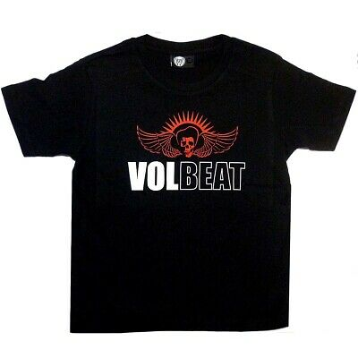 Volbeat Skullwing Logo Kids T-shirt 2-13 Years