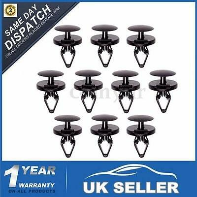 10 Front Bumper Wheel Arch Lining Splashguard Clips For Ford Fiesta Focus Mondeo