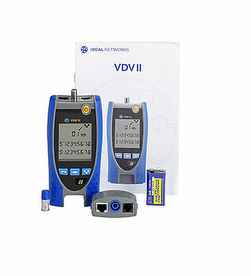 Ideal R158000 VDV II Voice, Data and Video Cable Verifier **NEW** UK Supplier