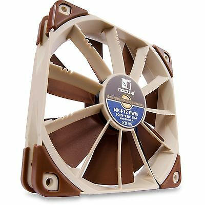 Noctua NF-F12 PWM 120mm Focused Flow PC Gaming Case PWM Cooling Fan