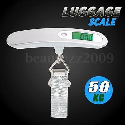Portable Digital Electronic Luggage Scale 5g - 50kg For Travel Business Trip