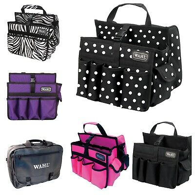 WAHL TOOL CARRY BAG - 5 STYLES (Polka Dot, Purple, Hot Pink, Black, Zebra)
