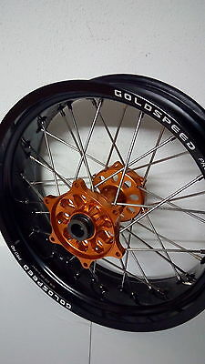 Supermoto wheel Hinterrad Rad KTM rear sx exc GOLDSPEED 17 x 5,00 NO excel talon