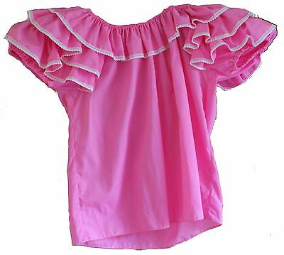 Bluse in ROSA_Square Dance_Western #B2096