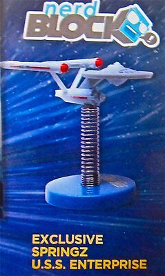 Star Trek USS Enterprise SPRINGZ Dashboard Accessory