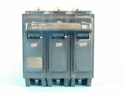 General Electric 3-Pole, 30 Amp Circuit Breaker G213=