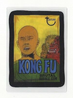 1a7f81cc074 2008 Topps Wacky Packages Flashback 2 FB2 Lenticular MOTION Card  7 KONG FU