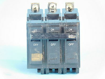 General Electric 3-Pole, 20 Amp Circuit Breaker G819