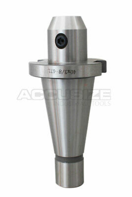 """5 Pcs ISO40 End Mill Holders with thread 5/8""""-11 , Hole Dia.: 3/8"""", #0534-0038x5"""