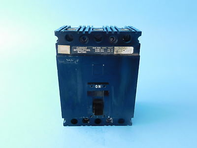 Square D 3-Pole, 40 Amp, 480V Circuit Breaker LJ-5299