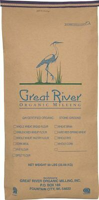 Great River Organic Milling Organic Specialty Corn Meal, 50-Pounds