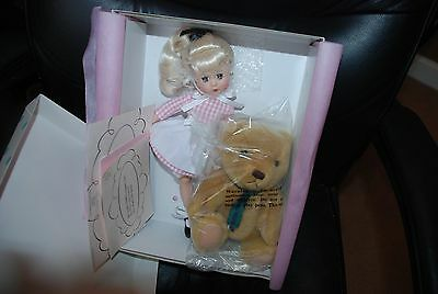 Edith the Lonely Doll 12 '' Madame Alexander Doll w/Stuffed Bear #47760  New