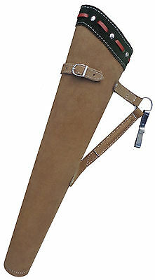 NEW TRADITIONAL FINE SUEDE TANNED QUIVER ARCHERY PRODUCTS  AQ152 ( LEFT Hand).