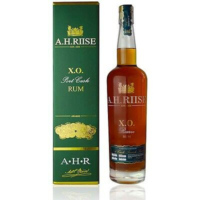 A.H. Riise X.O. Reserve Port Cask Rum Limited Edition 0,7 Liter 45%