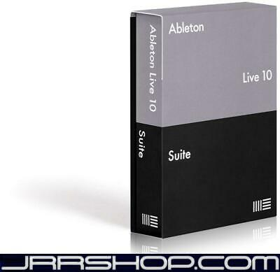 Ableton Live 10 Suite Upgrade from Any Older Live Suite Versions eDelivery JRR S