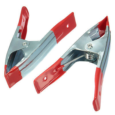 """Metal Spring Clamp 2"""" & 4"""" Grips Market Stall Tarpaulin Cover Clips"""
