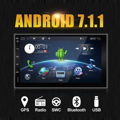doppel 2din 7 android autoradio 4 4 auto gps navi dvd. Black Bedroom Furniture Sets. Home Design Ideas