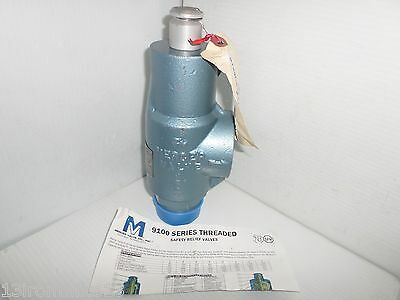 "**new** Mercer 91-43G51T21Nx1 9100 Series Pressure Relief Valve 2"" 635 Psi"