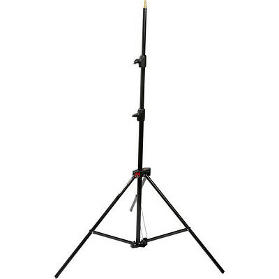 Manfrotto 1052BAC Aluminum Air-Cushioned Compact Light Stand (Black, 7.7')