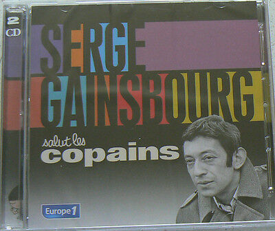 SALUT LES COPAINS - GAINSBOURG SERGE  (CD x2) Best of  NEUF SCELLE