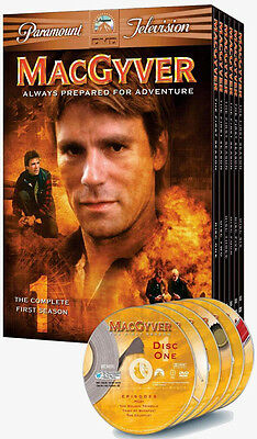 MacGyver - The Complete First Season (DVD, 2005, 6-Disc Set) NIB Sealed
