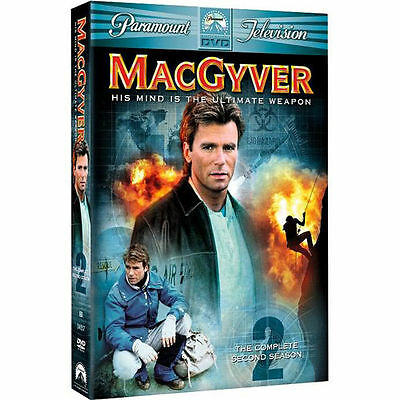 MacGyver - The Complete Second Season (DVD, 2005, 6-Disc Set) New and Sealed!
