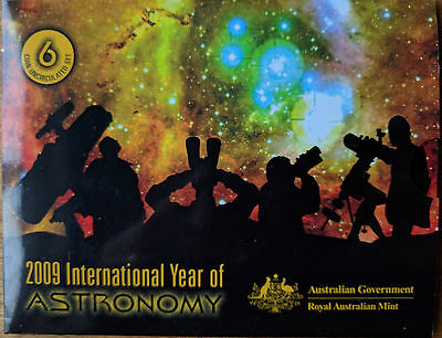 2009 Royal Australian Mint International Year of Astronomy Uncirculated Coin Set