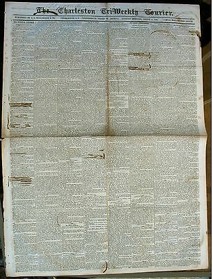 Newspaper- Confederate –Charleston Courier –Aug 6 1861.