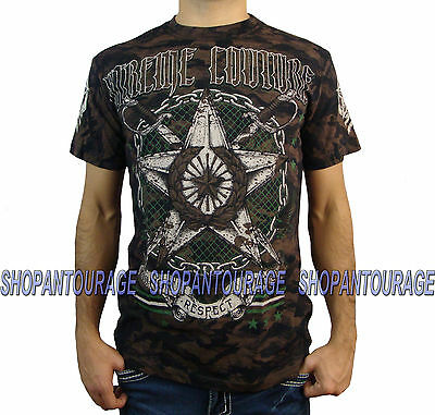XTREME COUTURE Strong Arm X1415 Men`s New Black T-shirt By Affliction
